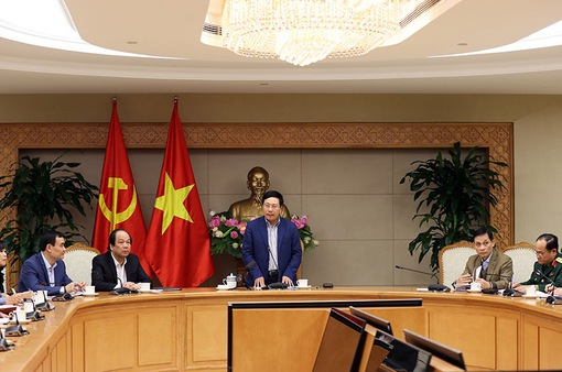 Phó Thủ tướng Phạm Bình Minh yêu cầu gấp rút hoàn tất công tác chuẩn bị cho Hội nghị thượng đỉnh Mỹ - Triều
