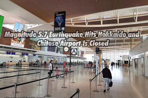 Nhật Bản: Động đất 5,8 độ richter, hàng trăm người mắc kẹt