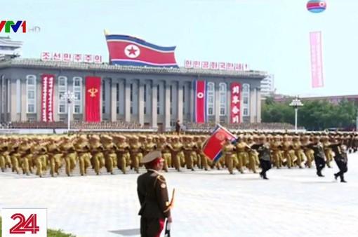 Những hình ảnh về cuộc diễu binh tại Triều Tiên