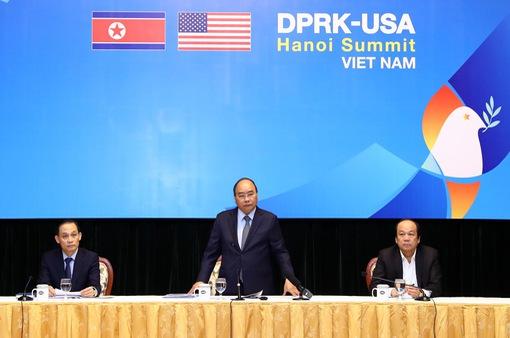 Thủ tướng Nguyễn Xuân Phúc: Việt Nam tạo mọi điều kiện để Hội nghị thượng đỉnh Mỹ - Triều diễn ra thành công