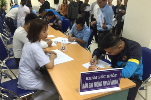 Kiểm tra việc lái xe sử dụng chất ma túy trên địa bàn tỉnh Hải Dương