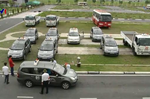 Lắp camera giám sát sát hạch lái xe