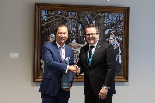 Việt Nam và New Zealand hướng tới nâng cấp quan hệ lên Đối tác chiến lược