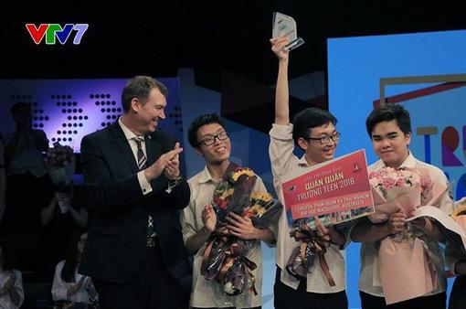 Giải thưởng hấp dẫn dành cho quán quân Trường teen 2019