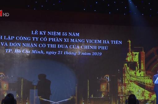 Xi măng Hà Tiên kỷ niệm 55 năm thành lập