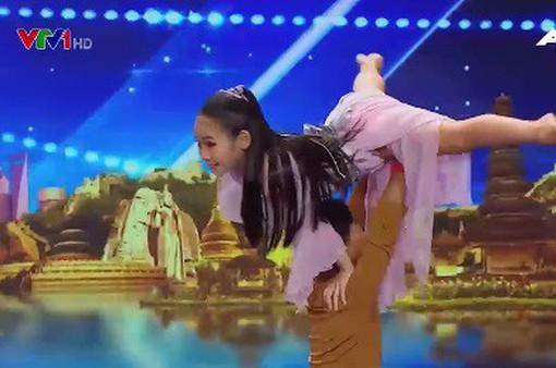 """Vũ công nhí Việt Nam gây ấn tượng tại """"Tìm kiếm tài năng châu Á"""""""
