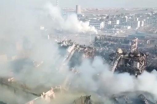 Nhân chứng vụ nổ nhà máy ở Trung Quốc kể lại việc sống sót trong gang tấc