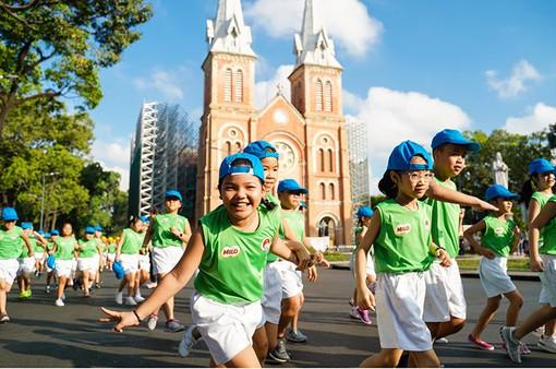 TP.HCM: Hàng nghìn người tham gia Ngày chạy Olympic vì sức khỏe toàn dân