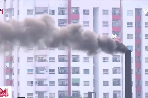 TP.HCM: Nhà máy xả khói gây ô nhiễm khu dân cư