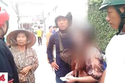 Bình Dương: Bắt quả tang nữ quái chuyên lừa người già bán vé số