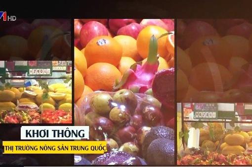 Khơi thông thị trường nông sản Trung Quốc