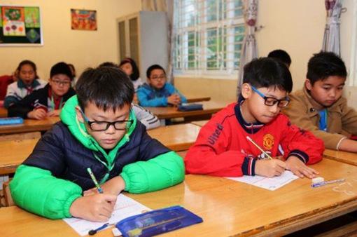 Hà Nội: Hơn 1.300 học sinh tiểu học thi Olympic Tiếng Anh