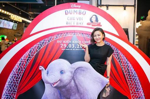 Văn Mai Hương xuất hiện cực xinh đẹp trong họp báo ra mắt bộ phim Dumbo - Chú voi biết bay