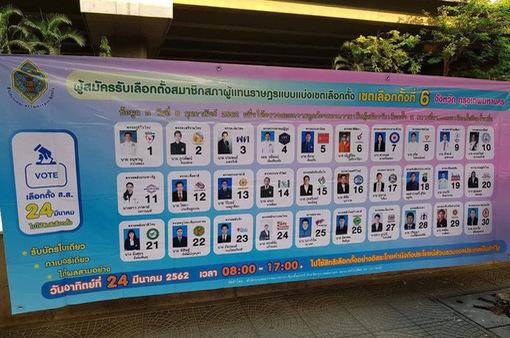 Bầu cử Thái Lan: Hoãn công bố kết quả sơ bộ