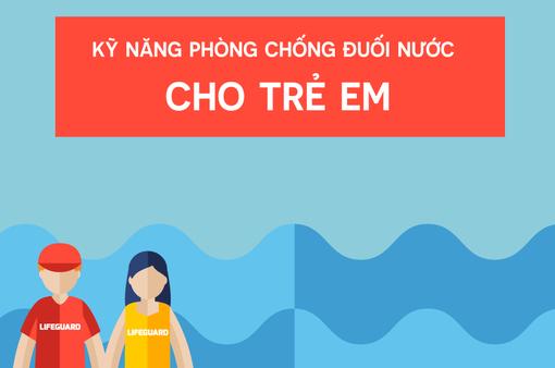 [INFOGRAPHIC] Kỹ năng phòng chống đuối nước cho trẻ em
