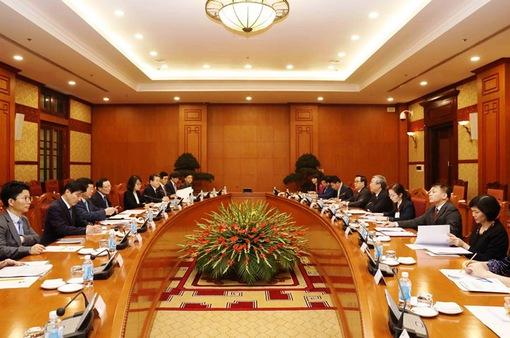 Tăng cường hợp tác Việt Nam - Hàn Quốc