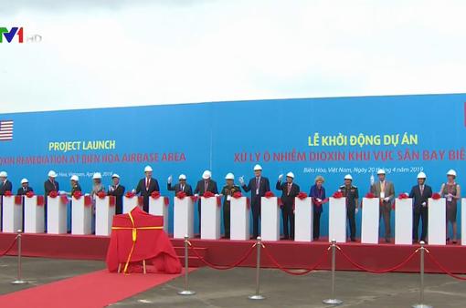 Khởi động dự án xử lý nhiễm độc dioxin khu vực sân bay Biên Hòa