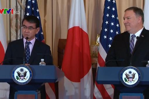 Mỹ - Nhật cam kết tiếp tục biện pháp cấm vận cứng rắn với Triều Tiên