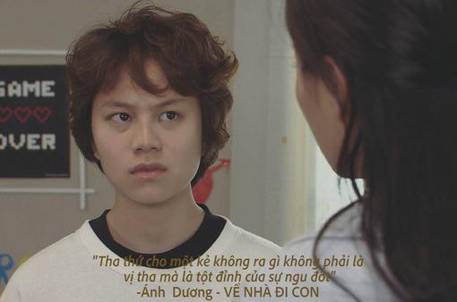 """Những câu nói bất hủ của cô em gái ngổ ngáo, bất trị Ánh Dương trong phim """"Về nhà đi con"""""""