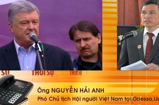 Cộng đồng người Việt tại Ukraine rất quan tâm tới bầu cử Tổng thống