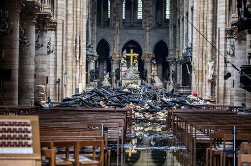 Tranh cãi về tiền quyên góp tu sửa Nhà thờ Đức Bà Paris