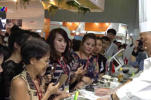 Hơn 40 doanh nghiệp tham dự Triển lãm Thực phẩm TP.HCM lần thứ 10