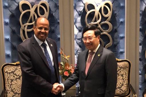 Việt Nam mong muốn thúc đẩy hợp tác với Djibouti