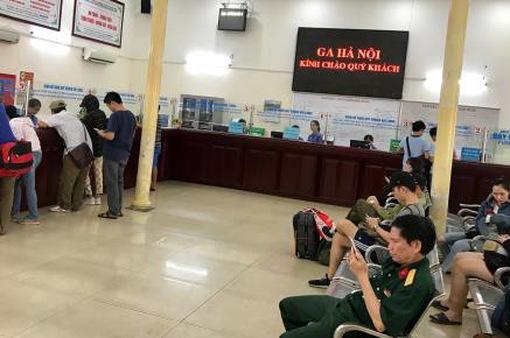 Đường sắt Hà Nội đã bán hết vé tàu phục vụ cao điểm nghỉ lễ 30/4-1/5
