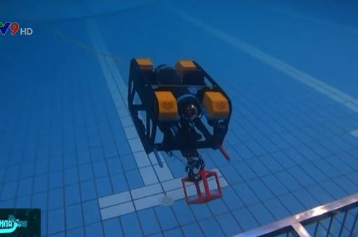 Sôi nổi cuộc thi chế tạo robot dưới nước