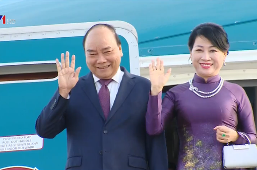 Thủ tướng Nguyễn Xuân Phúc bắt đầu chuyến thăm chính thức Liên bang Nga