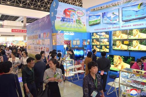 Sôi động Triển lãm Thương mại quốc tế Triều Tiên