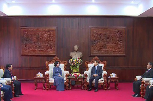 Việt Nam và Lào chia sẻ kinh nghiệm công tác dân vận