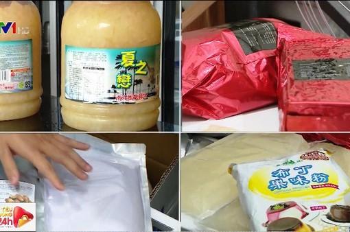 Hà Nội: Một số cửa hàng trà sữa nghi sử dụng nguyên liệu trôi nổi