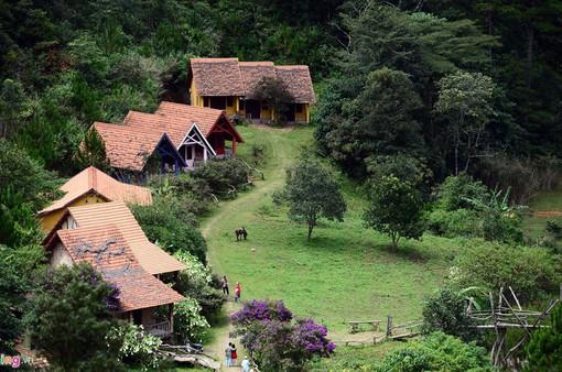 Làng Cù Lần: Thiên đường xanh dưới chân núi Lang Biang