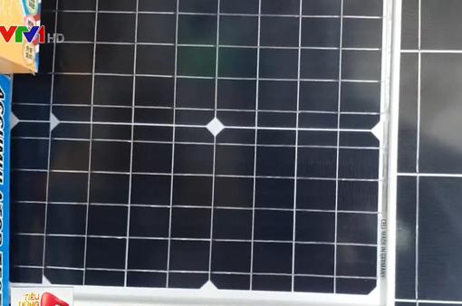 Loạn thị trường thiết bị điện năng lượng mặt trời tự lắp tại TP.HCM
