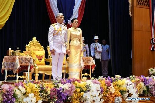 Nhà vua Thái Lan chủ trì phiên họp Quốc hội mới