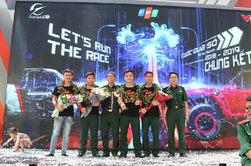 Học viện Kỹ thuật Quân đăng quang vô địch Cuộc đua số mùa 3