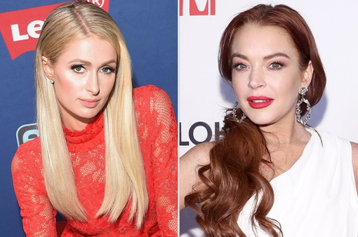 Bị Paris Hilton chỉ trích, Lindsay Lohan vẫn ca ngợi bạn cũ