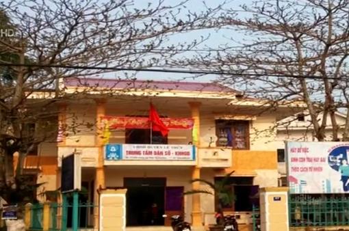 Khởi tố 6 cán bộ mua chứng chỉ giả tại Quảng Bình
