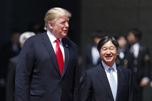 Tổng thống Mỹ diện kiến Nhật Hoàng Naruhito