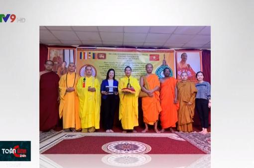 Sri Lanka tặng xá lợi cho Phật giáo Việt Nam