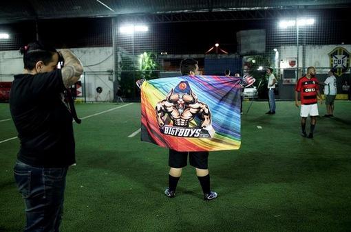 Đội bóng của những cầu thủ chuyển giới ở Brazil