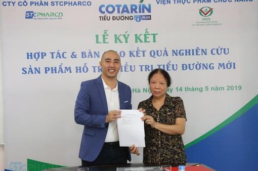 Hợp tác chiến lược STCPHARCO và Viện Thực phẩm chức năng vững vàng chuyên môn nâng tầm vị thế
