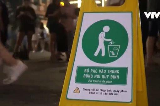 Ghi hình phạt nguội người xả rác bừa bãi