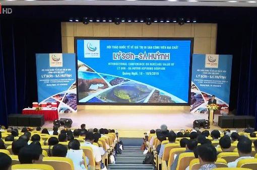 Hàng trăm chuyên gia dự Hội thảo công viên địa chất Lý Sơn - Sa Huỳnh