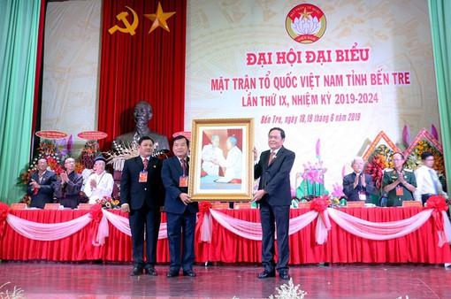 Đại hội Mặt trận Tổ quốc Việt Nam tỉnh Bến Tre lần thứ IX