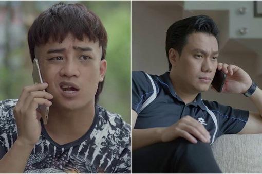 """Mê cung - Tập 17: Em trai cùng cha khác mẹ của Lam Anh """"gãi tiền"""" anh trai cùng mẹ khác cha với Lam Anh"""