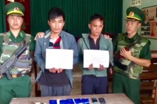 Sơn La: Bắt 2 đối tượng vượt biên buôn ma túy