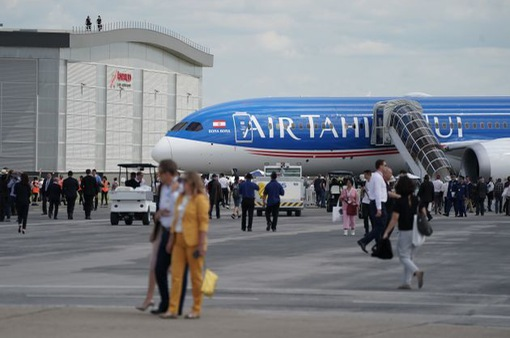 Cơ hội chiêm ngưỡng mẫu máy bay mới tại Triển lãm hàng không Paris