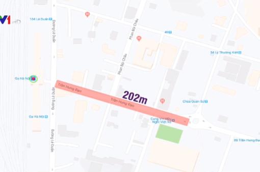 Hôm nay thi công ga S12 đường sắt đô thị Nhổn - Ga Hà Nội